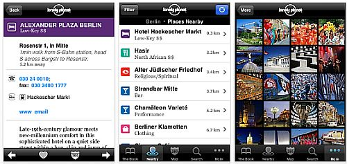 Screenshot Lonely Planet City Guide Berlin