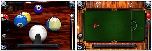 Screenshot Pool Pro Online 3 iPhone Version