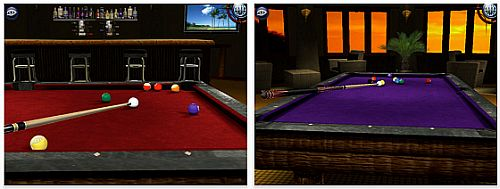 Screenshot Pool Pro Online 3 iPad Variante