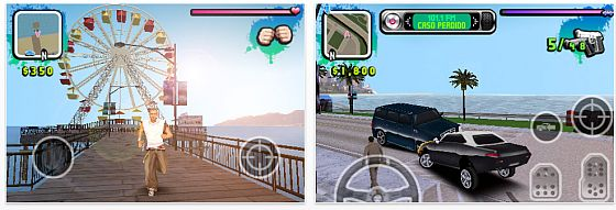 Screenshot Gangstar West Coast Hustle in iPhone und iPod Touch Qualität