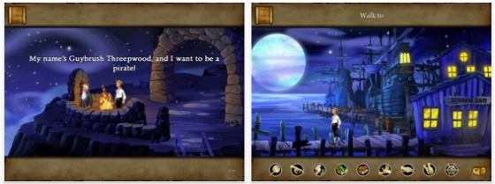 Monkey Island Special Edition Ipad