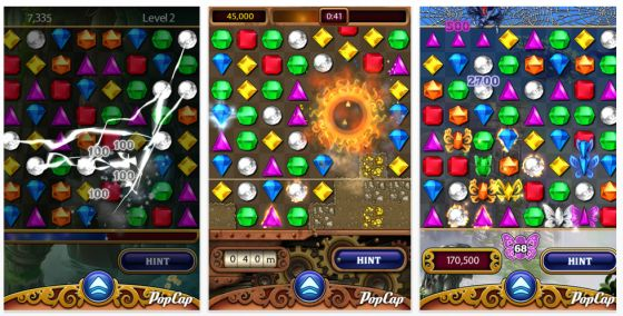 Bejeweled Screenshots