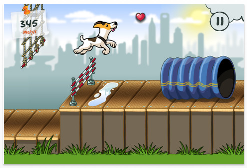 Agility City Screenshot der Universal-App für iPhone, iPod Touch und iPad