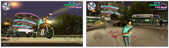 Grand Theft Auto: Vice City für iPhone, iPod Touch und iPad Screenshots