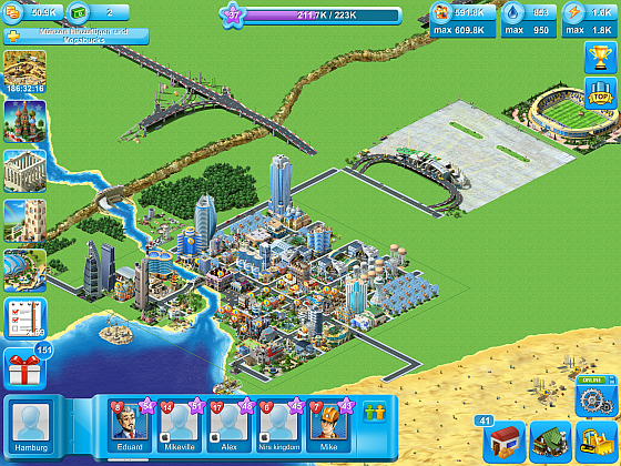 Megapolis Screenshot hamburg