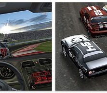 Real racing in HD-Version als App für das iPad