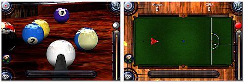 Screenshot Pool Pro Online 3 iPhone Version