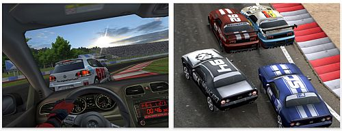 iPad App Real Racing HD Screenshot