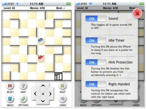Screenshot Theseus and the Minotaur iPhone-App