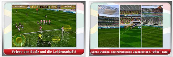 Screenshot FIFA Fussballweltmeisterschaft