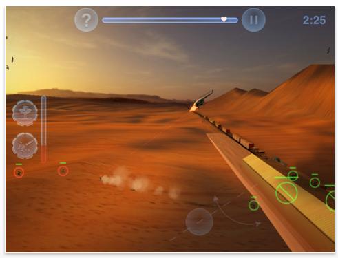Screenshot Chopper 2 auf dem iPad