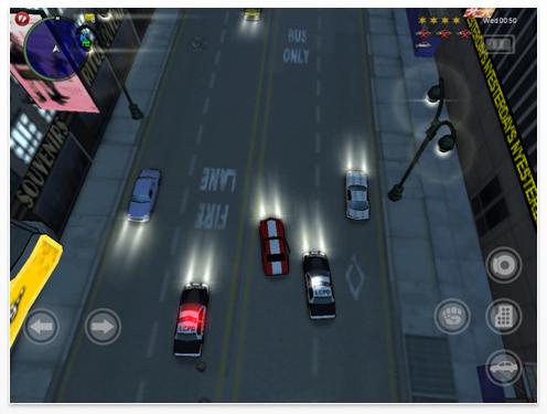 Chinatown Wars HD für das iPad Screenshot