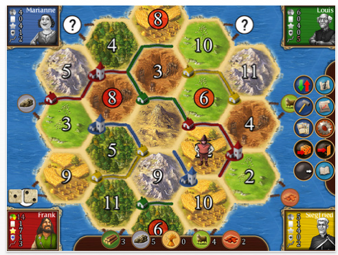 Catan HD Screenshot