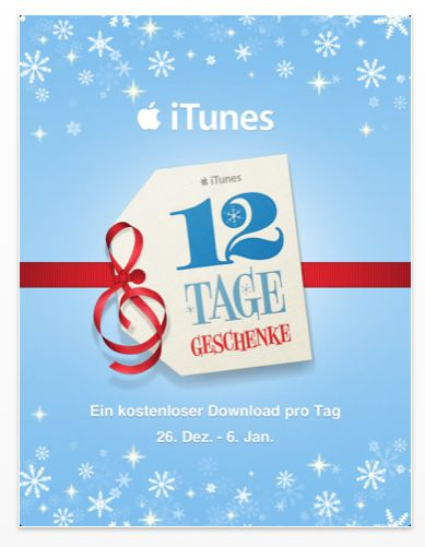 12 Tage Geschenke App Screenshot