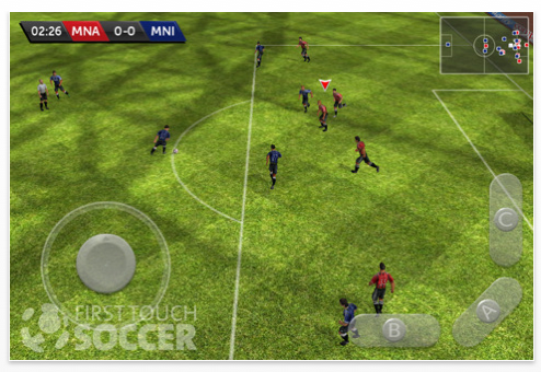 First Touch Soccer Screenshot