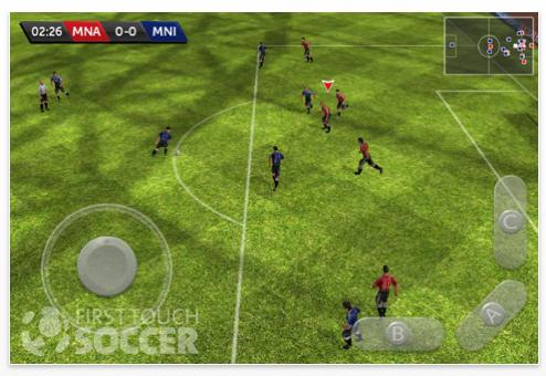 First Touch Soccer Screenshot