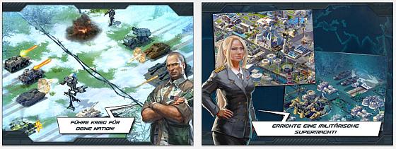 Gameloft nennt World at Arms ein Strategiespiel - wir nennen es eine Aufbausimulation, in der Deine Schritte schon vorgeplant sind und der Emtscheidungsspielraum auch durch Aufträge minimiert wird.