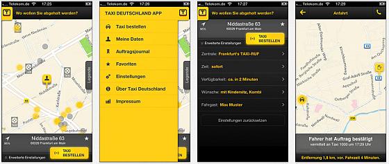 Taxi Deutschland Screenshots