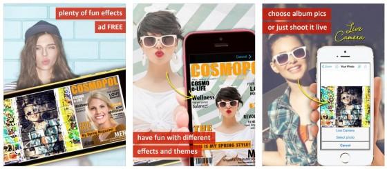 Photo2Fun bietet viele Vorlagen, in die man eigene Bilder einfügen kann. Allein das Ausprobieren bringt schon Spaß.