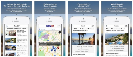 Travelzoo eignet sich gut zur Inspiration - die App enthält zahlreiche interessante Angebote.