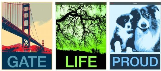 Mit HOPE POster Photo Filter kannst Du ganz einfach die für Amerika typischen Poster aus Deinen Bildern erstellen. Das geht ruckzuck und das Ergebnis überzeugt.