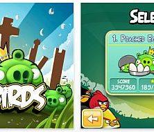 Mit 5 Sternen bewertetes Spiel: Angry Birds für iPhone, iPod Touch und iPad