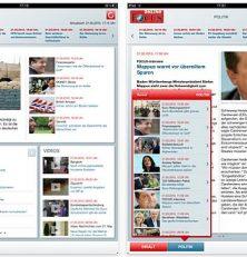 Einen Tag vor dem Start in Deutschland: Focus Online veröffentlicht kostenlose iPad App