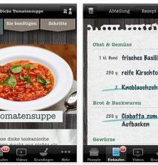 Jamie Olivers Kochrezepte für iPhone, iPod Touch und iPad als App 20 Minute Meals