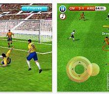 Zur Fußball-WM: Fußballspiel Real Football 2010 für iPhone und iPod Touch statt 3,99 nur 79 Cent