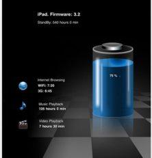 Die kostenlose App Batterie Monitor für Dein iPhone, iPod Touch und iPad zeigt Dir exakt an wieviel Power Dein Gerät noch besitzt