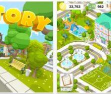 Baue mit der kostenlosen App City-Story eine Stadt nach Deinen Vorstellungen