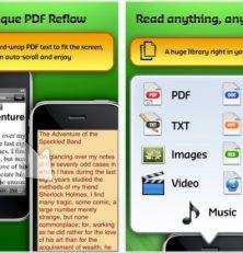 Mit der GoodReader-App für Dein iPhone, iPod Touch und iPad viele Arten von Text-, Audio- und Videodateien lesen