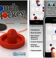Hole Dir mit Hockey Touch Extreme den Air Hockey-Spielspaß auf Dein iPhone, iPod Touch und iPad