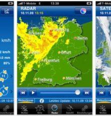 Nie mehr im Regen stehen mit Weather pro für Dein iPhone, iPod Touch und iPad