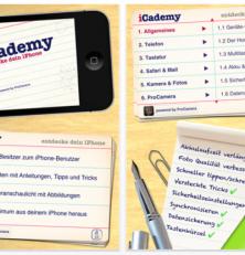 Erkunde Dein iPhone und iPod Touch mit der kostenlosen App iCademy